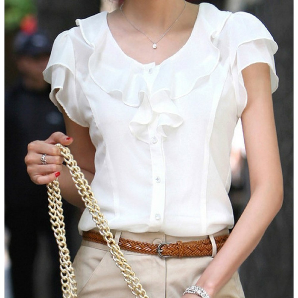 Женские Блузки Из Шифона Фото